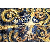 Doctor Who Exploding Tardis Maxi Poster