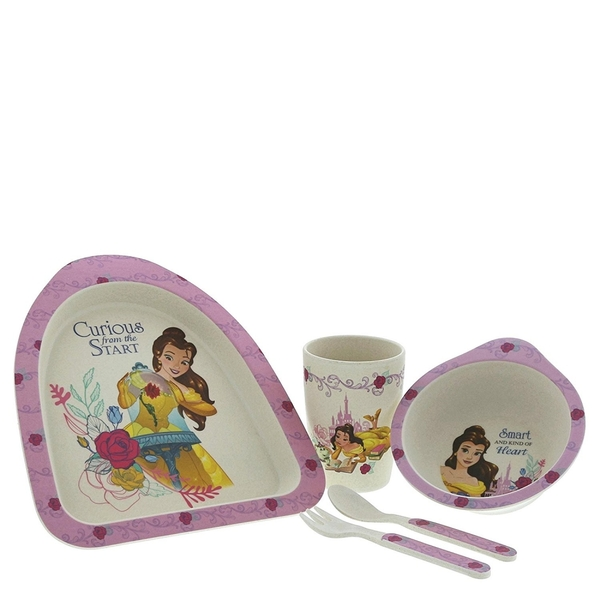 Enchanting Disney Belle Organic Dinner Set - Image 1