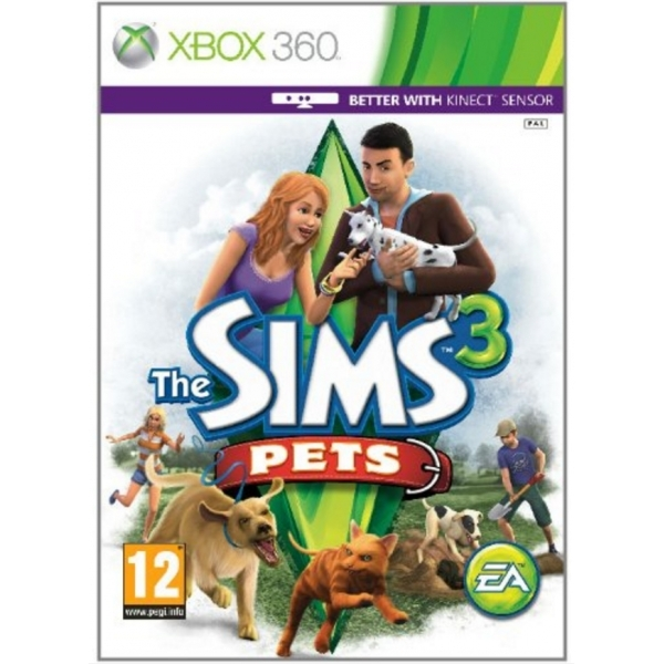 The Sims 3 Pets (Kinec...