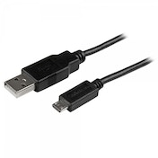 15cm (6in) Mobile Charge Sync USB to Slim Micro USB Cable for Smartphones and Tablets - A to Micro B