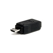 StarTech USB 2.0 Mini-B (F) to USB 2.0 Micro-B (M) Black Retail Packaged Data Adapter