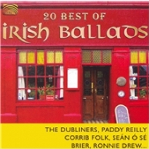 20 Best Of Irish Ballads CD