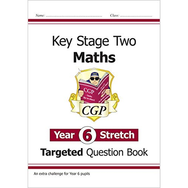 KS2 Maths Targeted Question Book - Year 6+, Challenging Maths for Year 6 Pupils by CGP Books (Paperback, 2015)