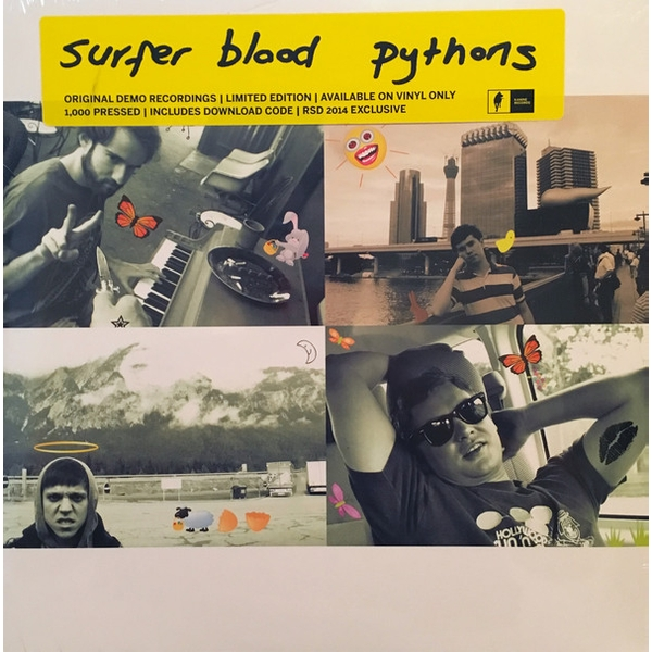 Surfer Blood - Pythons Vinyl