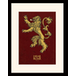 Game of Thrones - Lannister Mounted & Framed 30 x 40cm Print - Image 2
