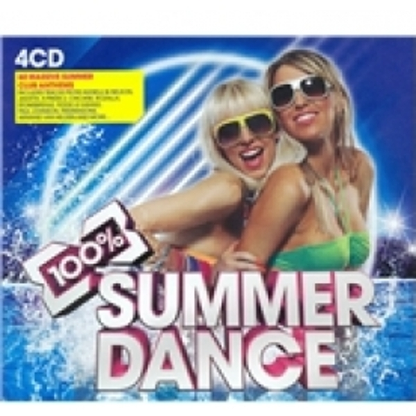 100% Summer Dance CD