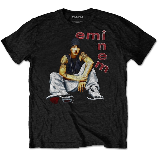 Eminem - Letters Men's X-Large T-Shirt - Black