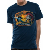 Thor Ragnarok - Contest Of Champions Men's Large T-Shirt - Blue