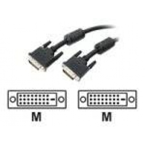 15 ft DVI-D Dual Link Digital Video Monitor Cable - M/M