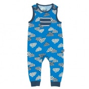Kite Kids Baby-Boys 6-12 Months Clouds Dungarees
