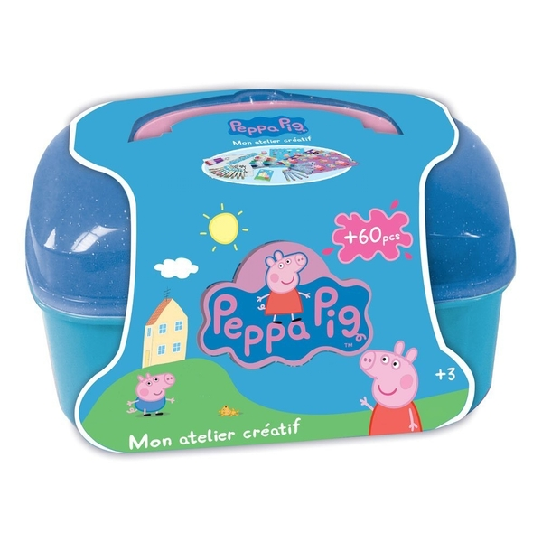 Peppa Pig My Creative Workshop with 60 Piece Creative Accessories Kit