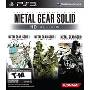 Metal Gear Solid HD Collection Game PS3