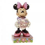 Disney Traditions It's a Girl Minnie Mouse