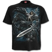 Grim Rider Men's Medium T-Shirt - Black