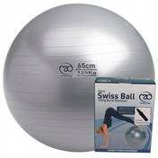 Yoga-Mad 125kg Burst Resistant Swiss Ball & Pump 65cm