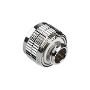 Phanteks 16/10mm Compression Fitting (5/8- 3/8inch) G1/4 Mirror Chrome