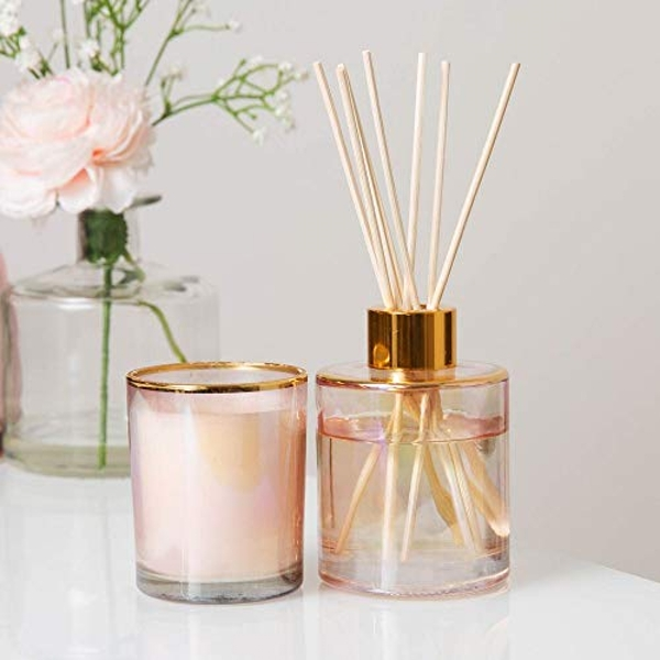 Estella 92g Candle & 100ml Reed Diffuser - Lily Blossom