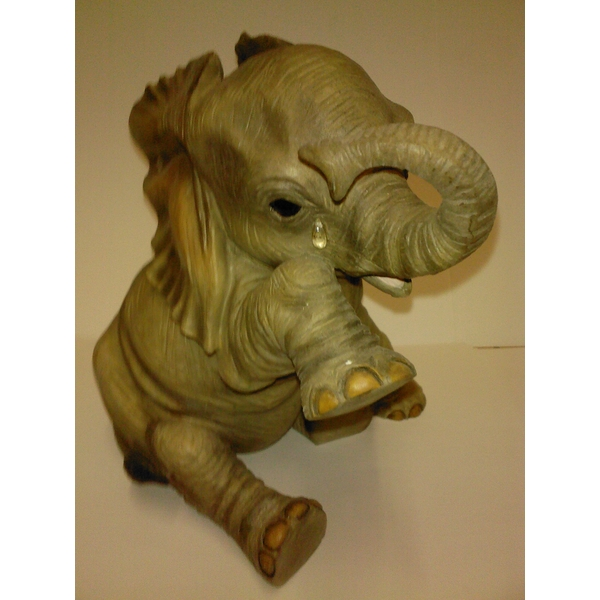 Elephant Missing You 16cm Figurine By Lesser & Pavey