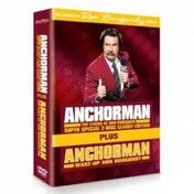 Anchorman The Legend Of Ron Burgundy & Wake Up Ron Burgundy DVD