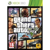 Grand Theft Auto GTA V (Five 5) (with Atomic Blimp DLC Code) Game Xbox 360