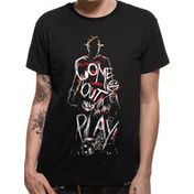 Nightmare On Elm Street - Come Out To Play Men's X-Large T-Shirt - Black
