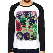 Suicide Squad - Poster Men's X-Large T-Shirt - White