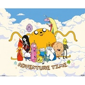 Adventure Time Cloud Mini Poster