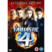 Fantastic Four Extended Edition DVD