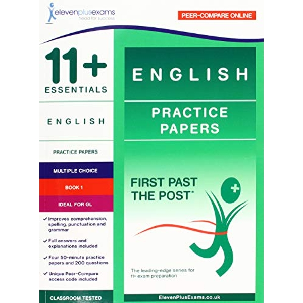11+ Essentials English Practice Papers Book 1  Paperback / softback 2018