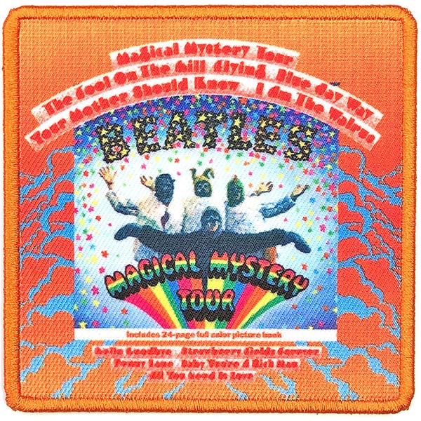 The Beatles - Magical Mystery Tour Album Cover Standard Patch