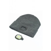 I Beanie Beanie Hat with Rechargeable LED Lights