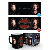 Supernatural Sam and Dean Heat Change Mug