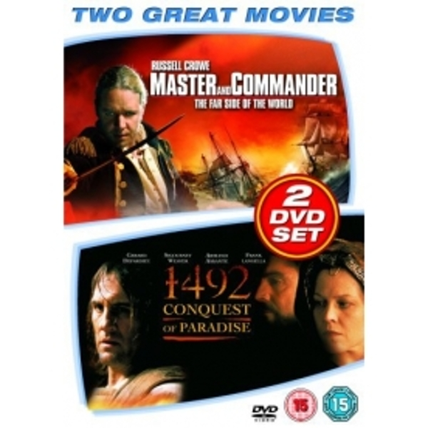 1492 Conquest of Paradise / Master and Commander DVD
