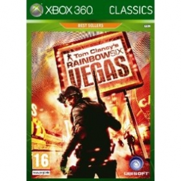 Tom Clancys Rainbow Six Vegas Game Xbox 360
