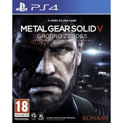 Metal Gear Solid Ground Zeroes Game PS4
