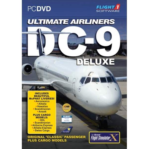 Ultimate Airliners DC-9 Deluxe PC Game