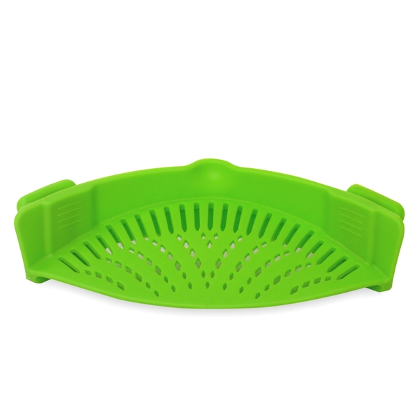 Silicone Clip on Pan Sieve & Strainer | FREE Clip On Pour Spout | M&W - Image 5