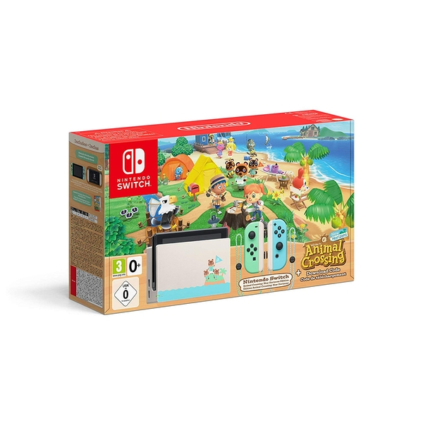 Nintendo Switch Console Animal Crossing New Horizons Edition [Damaged Packaging]
