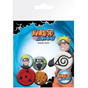 Naruto Shippuden Mix Badge Pack