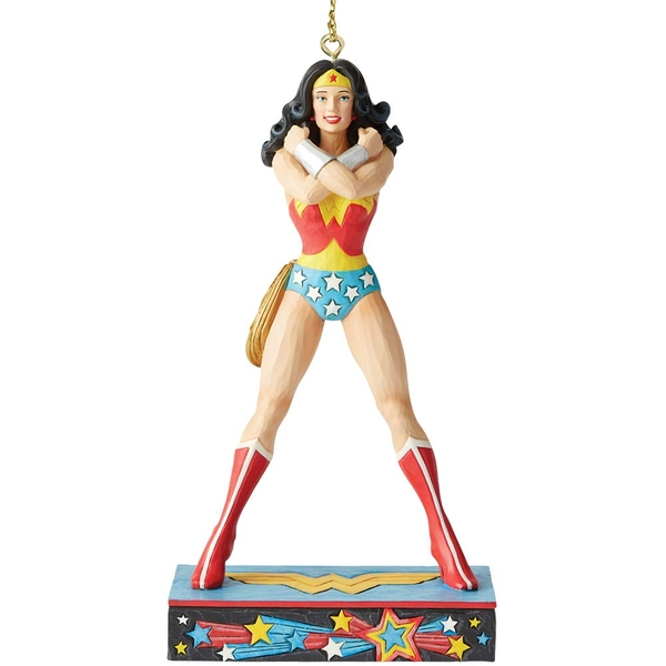 Wonder Woman Silver Age Hanging Ornament