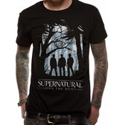 Supernatural - Group Outline (Unisex) Black Small