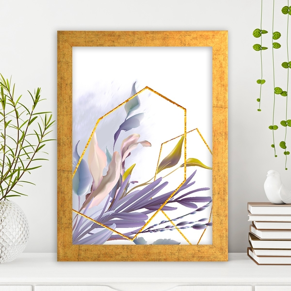 AC14873459633 Multicolor Decorative Framed MDF Painting