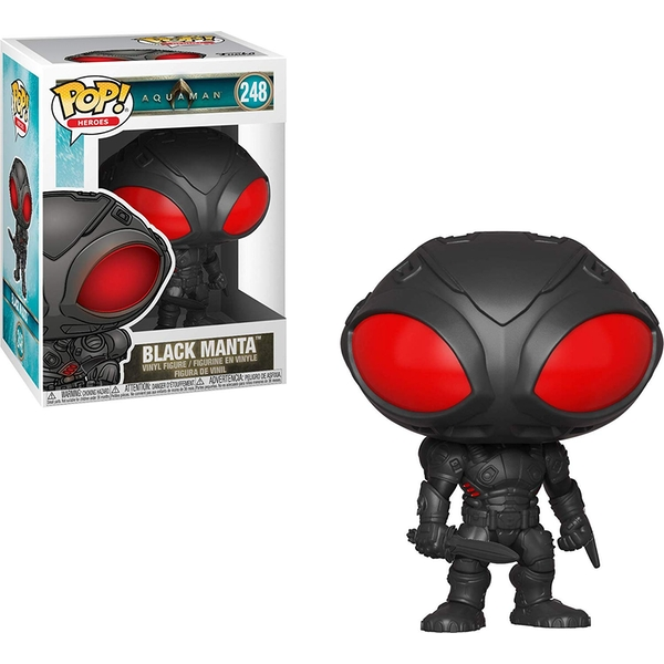 Black Manta (DC Comics Aquaman) Funko Pop! Vinyl Figure #248