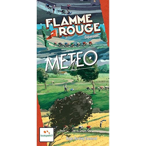 Flamme Rouge Meteo Board Game