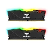 Team DELTA RGB 8GB Black Heatsink with RGB LEDs (2 x 4GB) DDR4 2666MHz DIMM System Memory