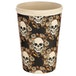 Skulls and Roses Design Bambootique Eco Friendly Travel Cup/Mug - Image 3
