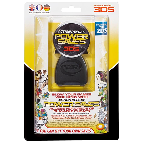 Datel Action Replay Powersaves (Nintendo 2DS / 3DS XL / 3DS)