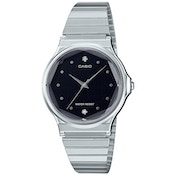 Casio MQ-1000ED-1A2EF Unisex Watch with Steel Bracelet and Black Dial
