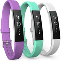 Fitbit Alta / Alta HR Strap 3-Pack Small - Violet/Mint Green/White
