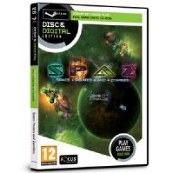 Focus Multimedia Space Pirates and Zombies Game Disc and Digital Edition for PC